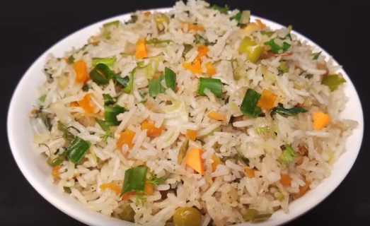 Veg fried rice veg fried rice in telugu hyderabadi ruchulu ccuart Choice Image