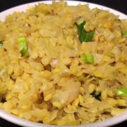 Cabbage-Pesarapappu-Fry
