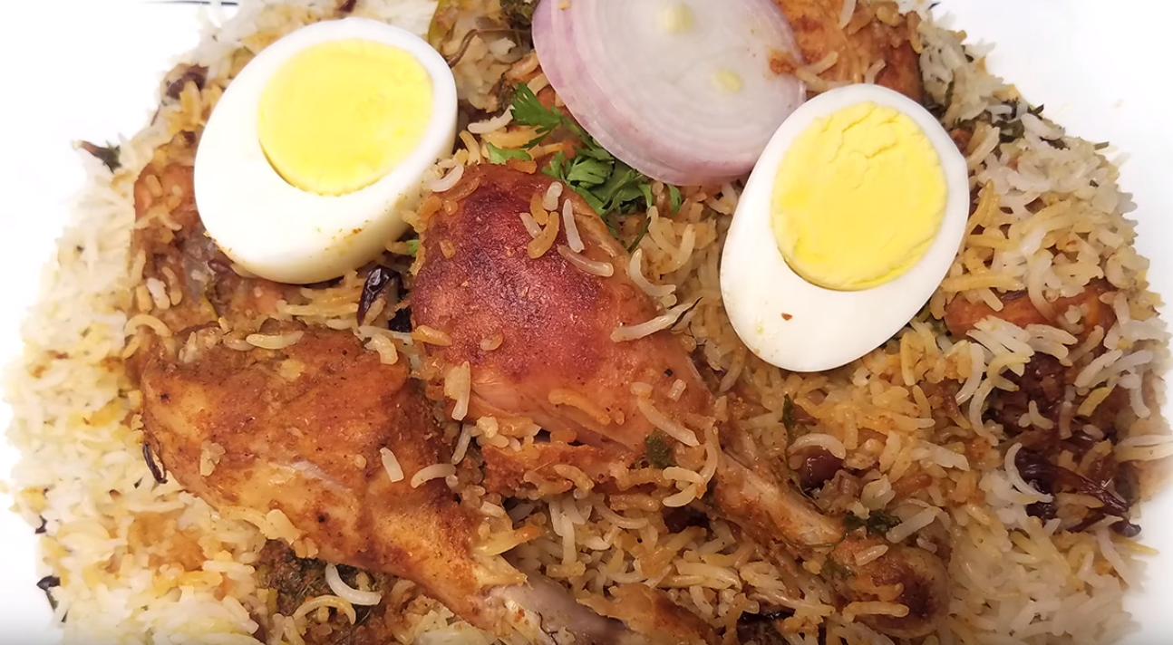 Chicken Dum Biryani Hyderabadi Dum Biryani Recipe In Telugu