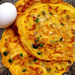Egg Omelette Recipe in Telugu