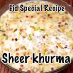 Sheer Khurma