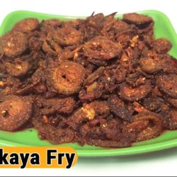 bittergourd fry
