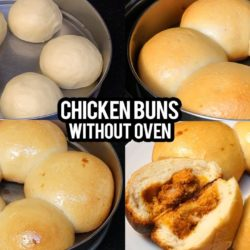Chicken Buns without Oven