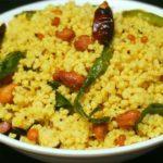 Millet Pulihora Recipe