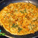 Carrot omelette