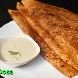Crispy Millet Dosa