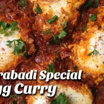 EEgg Curry With Putnala Podi