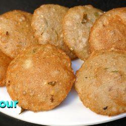 Rice Flour Poori
