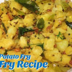 Simple Aloo Potato Fry