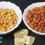 Salt Roasted Peas & Corn