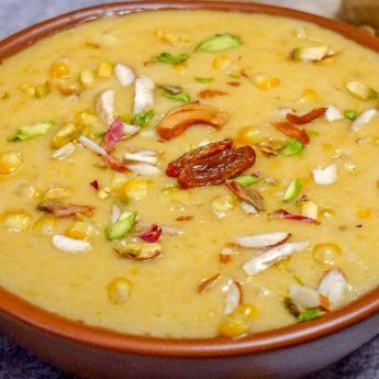 Corn Payasam